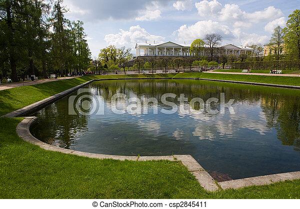 park in Pavlovsk - csp2845411