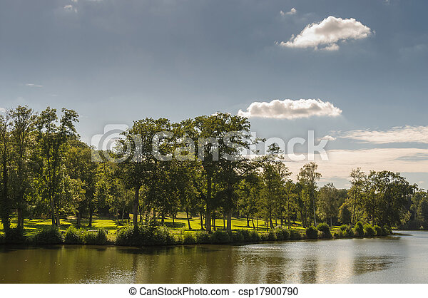 Park in spring - csp17900790