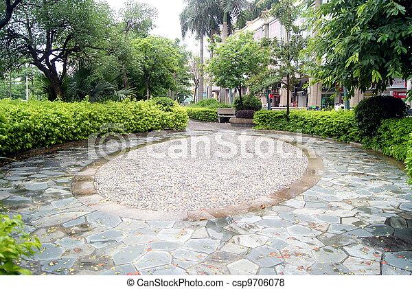 Park landscape - csp9706078