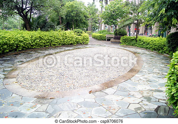 Park landscape - csp9706076