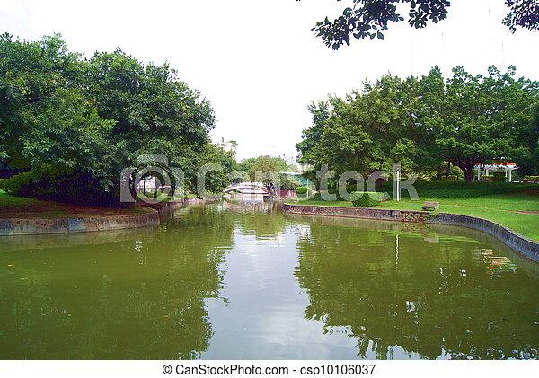 Park landscape  - csp10106037
