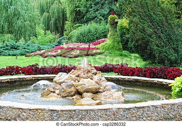 park scene - csp3286332