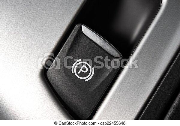 Parking Brake Button - csp22455648