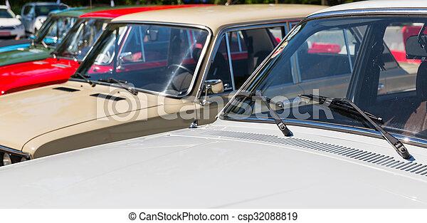 Parking cars - csp32088819