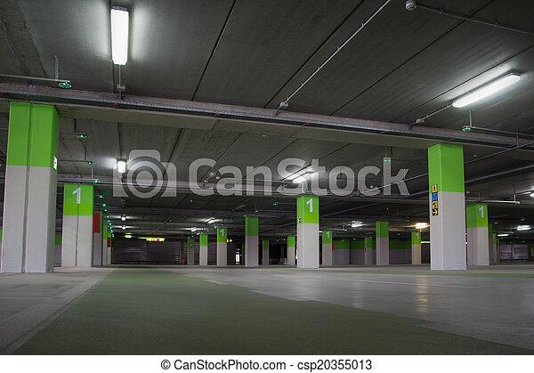 Parking Garage - csp20355013