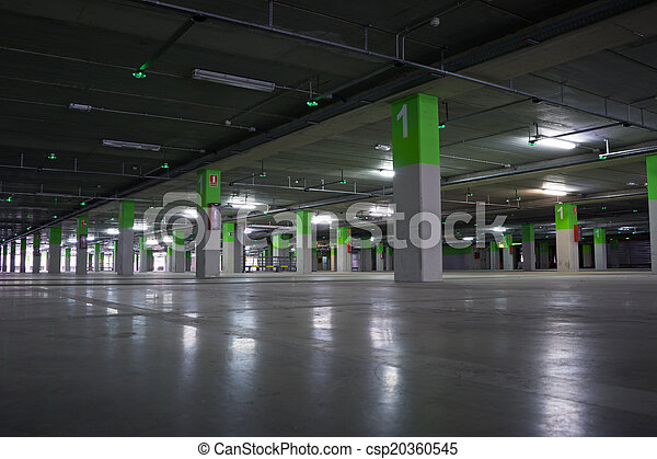 Parking Garage - csp20360545