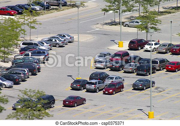 Parking Lot - csp0375371