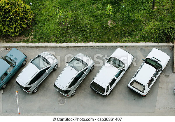 Parking - csp36361407