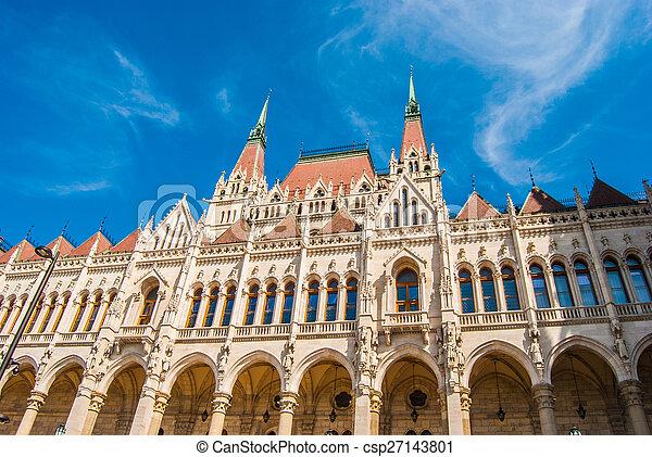 Parlamento húngaro - csp27143801