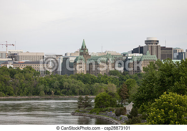Parliament Building Ottawa Canada - csp28873101