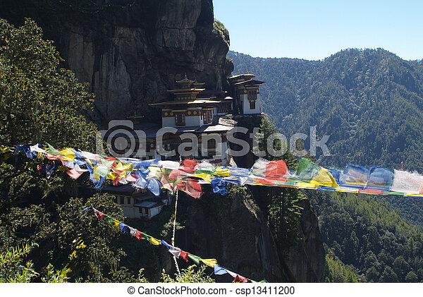 paro, bhutan - csp13411200