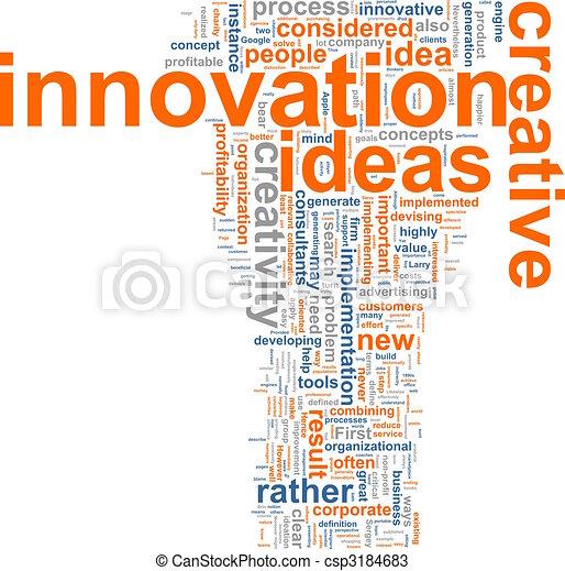 parola, nuvola, innovazione - csp3184683