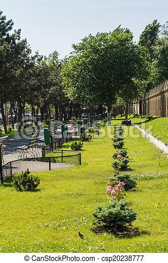 parque, callejón - csp20238777