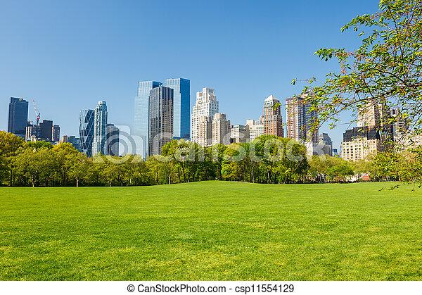 parque, central, york, nuevo - csp11554129