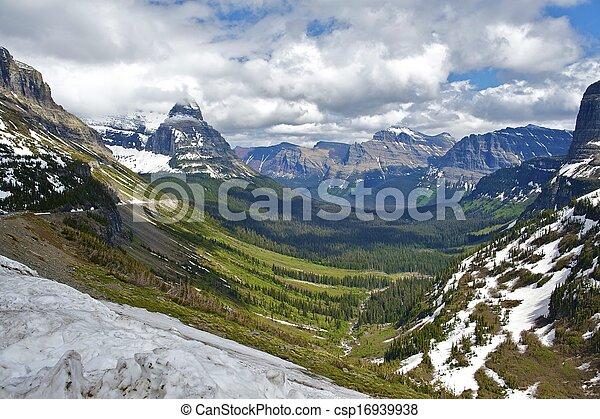 parque nacional del glaciar - csp16939938