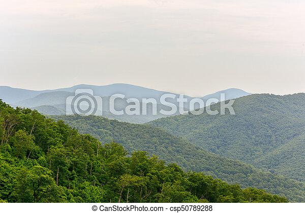 Shenandoah National Park, Virginia - csp50789288