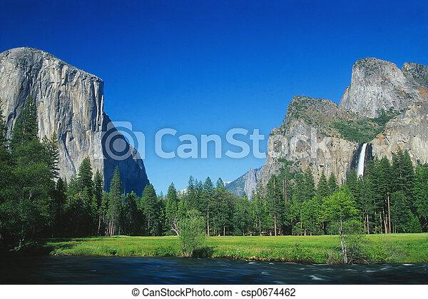 Parque nacional de Yosemite - csp0674462