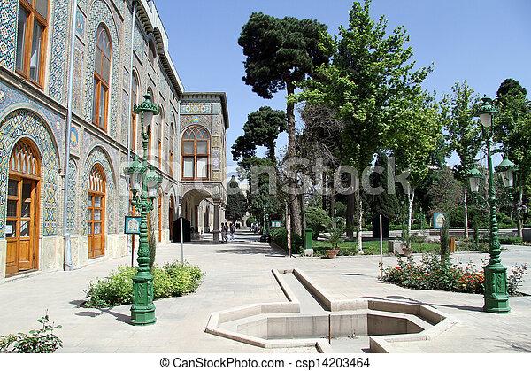 parque, palácio - csp14203464