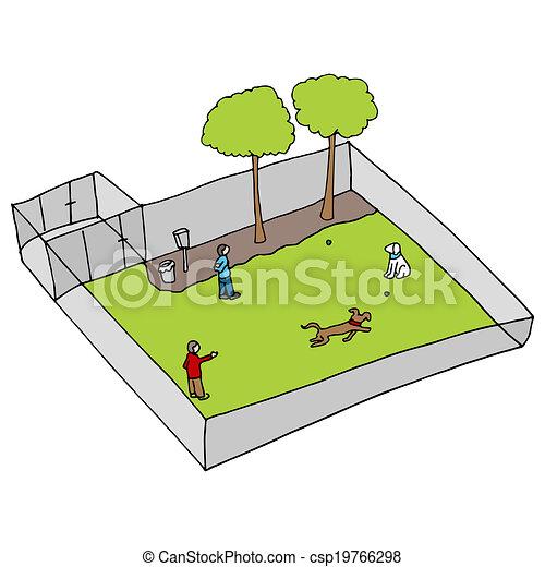Parque de perros - csp19766298
