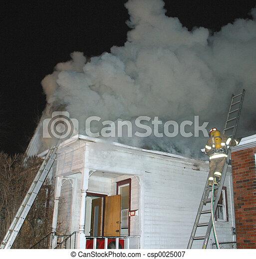 Fuego doméstico - csp0025007