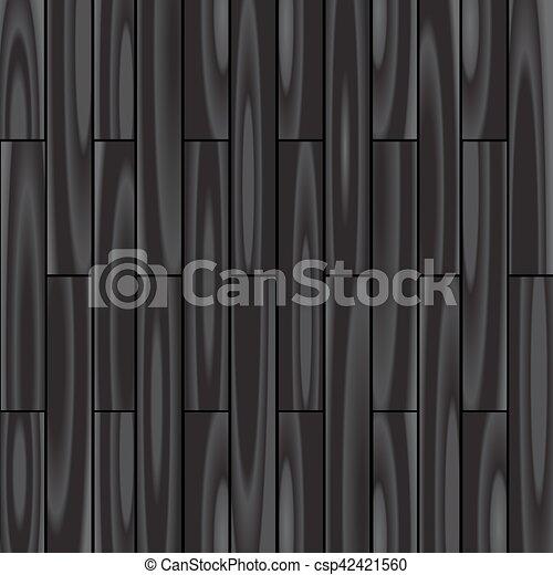 parquet black background - csp42421560