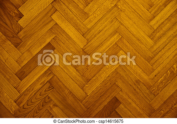 parquet wood floor - csp14615675