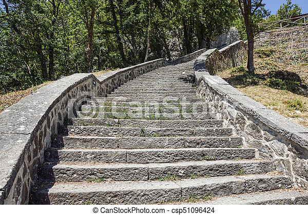 Part Of An Ancient Staircase   Csp51096424