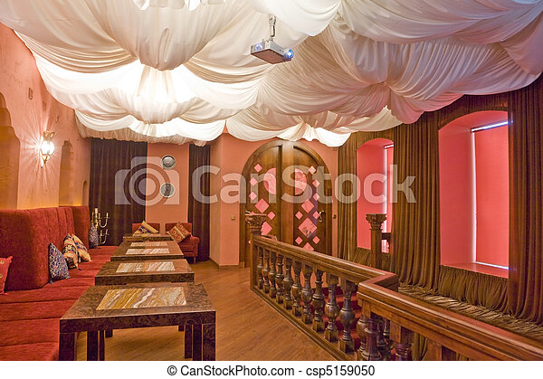 part of an restaurant's interior - csp5159050