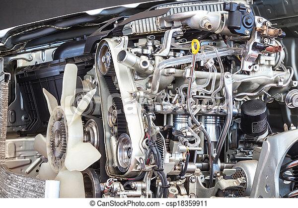 Part of car engine - csp18359911