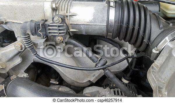 Part of car engine - csp46257914