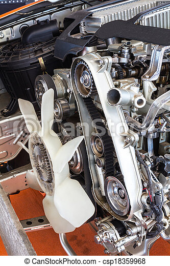 Part of car engine - csp18359968