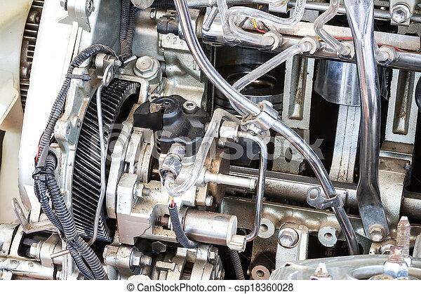 Part of car engine - csp18360028