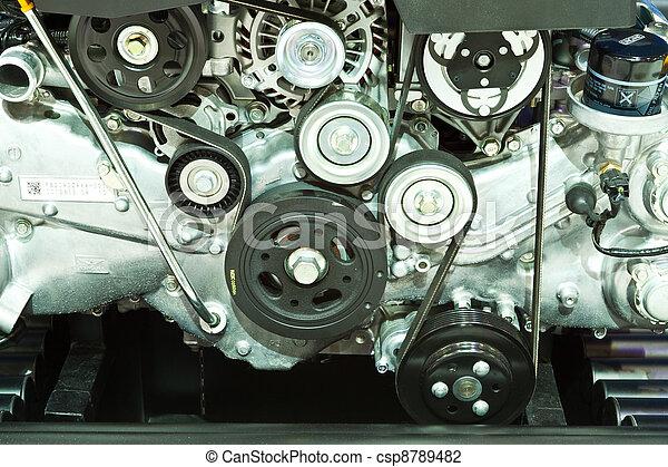 Part of car engine - csp8789482