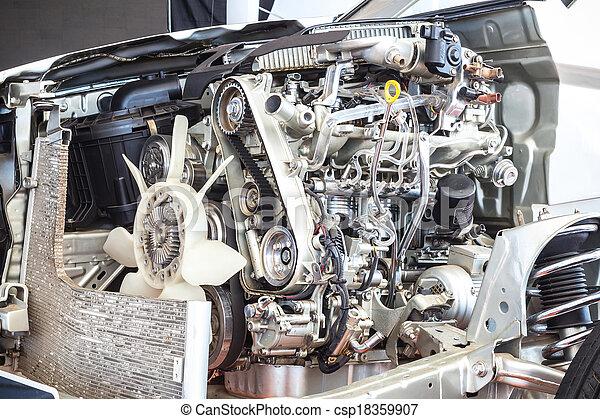 Part of car engine - csp18359907