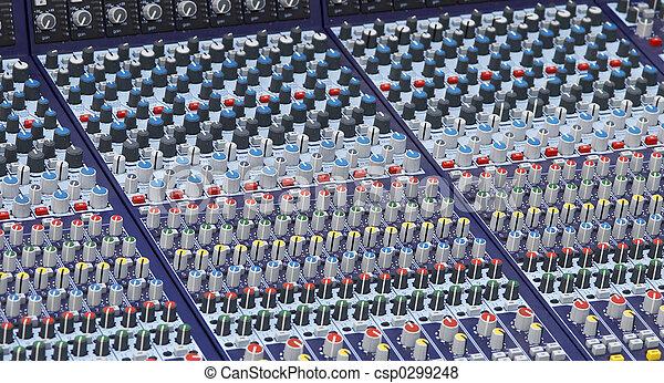 part of the mixer desk - csp0299248