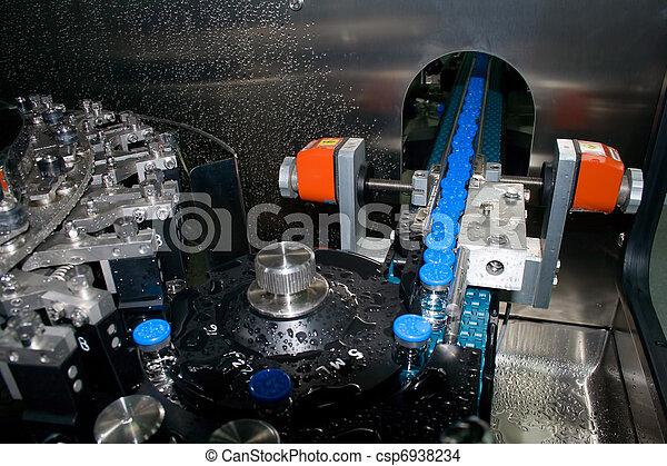 Part of washing machine. Plant medicines. - csp6938234