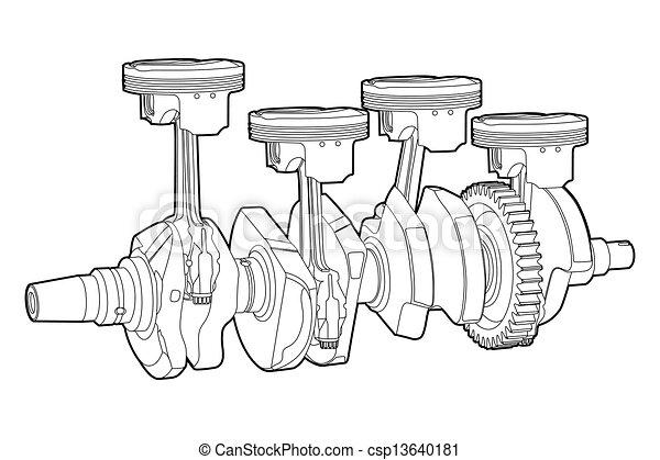parte motore - csp13640181