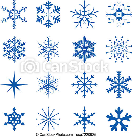 parte, snowflakes - csp7220925