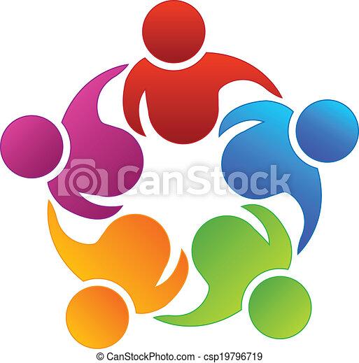 partenaires, collaboration, business, logo - csp19796719