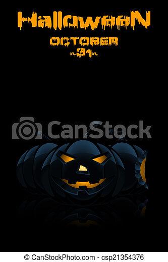 parti, halloween, bakgrund - csp21354376