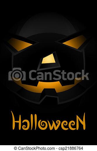parti, halloween, bakgrund - csp21886764