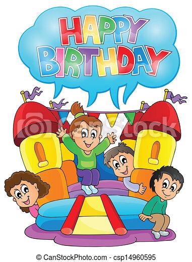partia, temat, dzieciaki, wizerunek, 6 - csp14960595