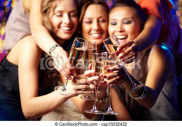 partido, champanhe - csp10232432