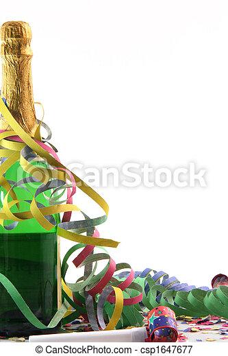 partido, champanhe - csp1647677