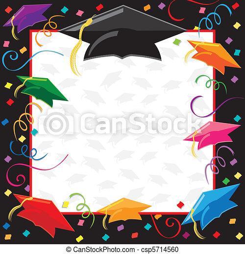 partido, graduação, convite - csp5714560