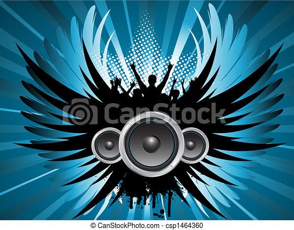 partido, grunge - csp1464360
