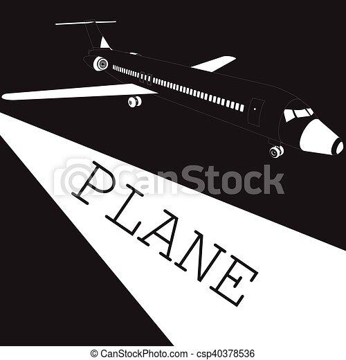 Tableau avion noir et blanc tableau design cuba with - Tableau avion noir et blanc ...