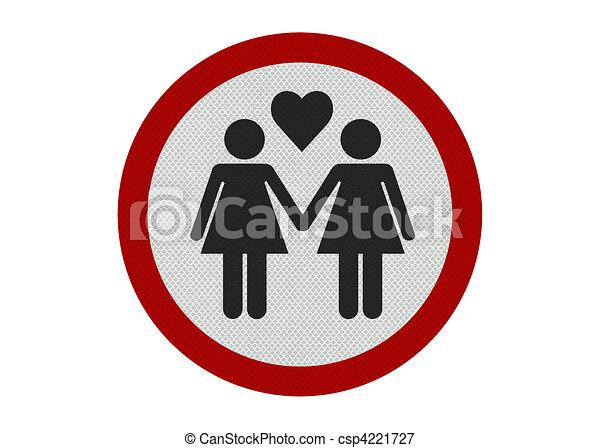 partners', réaliste, isolé, 'female, signe, photo, blanc - csp4221727