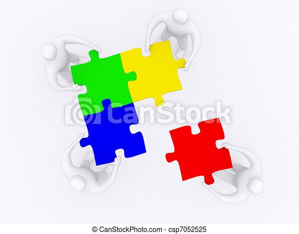 partnerschaft - csp7052525