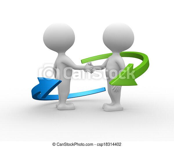 partnership. - csp18314402